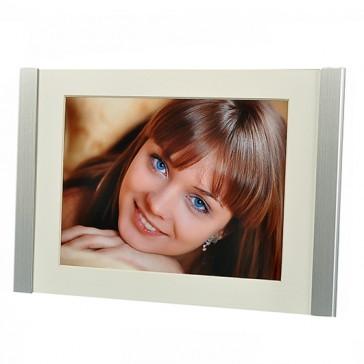 """Porträtrahmen """"Huoston"""", für Fotos 13 x 18 cm oder 15 x 20 cm, Metall, von Hama (68909)"""