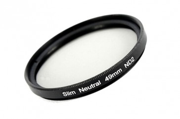 ND Filter / Graufilter ND2 SLIM 49 mm + Filterbox