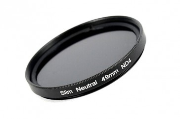 ND Filter / Graufilter ND4 SLIM 49 mm + Filterbox