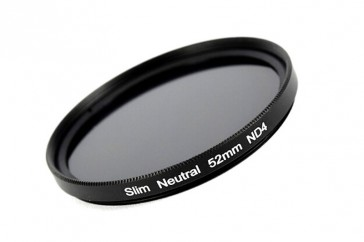ND Filter / Graufilter ND4 SLIM 52 mm + Filterbox