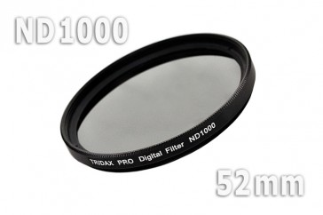 ND1000 Graufilter 52 mm + Filterbox