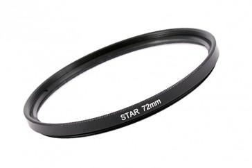 Effekt Filter Star Stern Gitter 4x 72 mm + Filterbox
