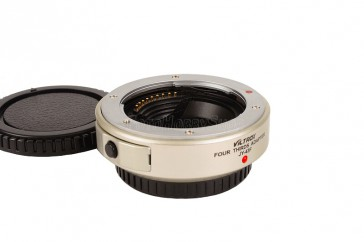 Objektivadapter für Olympus 4/3 Objektiv an Micro 4/3 Kamera wie MMF - 2 (silber)