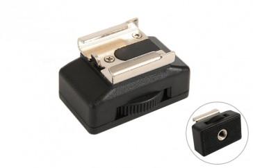 """Blitzschuhadapter f. Blitz Videoleuchte Standard ISO an 1/4"""" Stativ"""