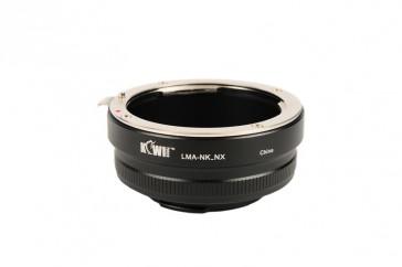 Objektivadapter für Nikon an Samsung NX