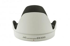 JJC Gegenlichtblende für Canon EW-83G (Tulpe, weiß)