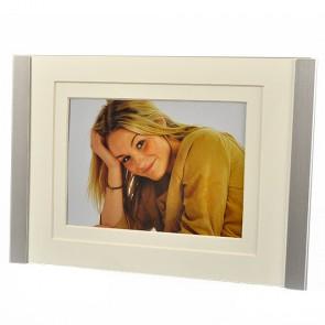 """Porträtrahmen """"Huoston"""", für Fotos 10 x 15 cm oder 13 x 18 cm, Metall, von Hama (68908)"""