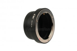 Objektivadapter für Olympus OM Objektive an Nikon 1 Systemkamera