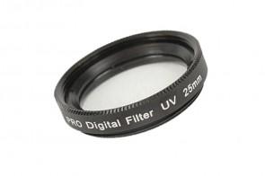 UV Filter 25 mm + Filterbox