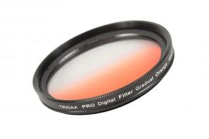 Tridax Verlaufsfilter Gradual orange 46mm