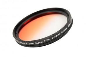 Tridax Verlaufsfilter Gradual orange 49mm