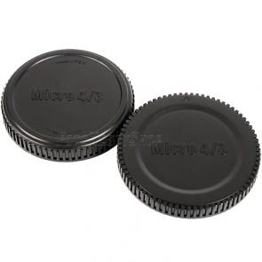 Gehäusedeckel und Objektivrückdeckel für Micro 4/3 MFT  Micro Four Thirds