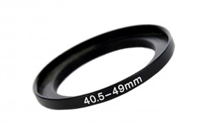 Filteradapter Adapterring Step-Up 40,5mm - 49mm