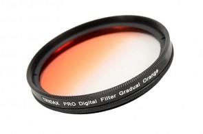 Tridax Verlaufsfilter Gradual orange 55mm