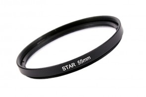 Effekt Filter Star Stern Gitter 6x 55 mm + Filterbox