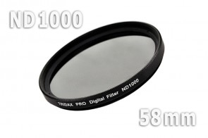 ND1000 Graufilter 58 mm + Filterbox