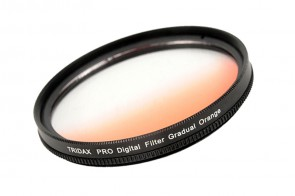 Tridax Verlaufsfilter Gradual orange 72mm