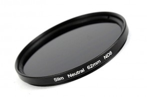ND Filter / Graufilter ND8 SLIM 62 mm + Filterbox