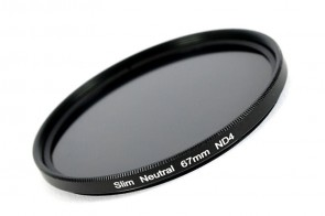 ND Filter / Graufilter ND4 SLIM 67 mm + Filterbox