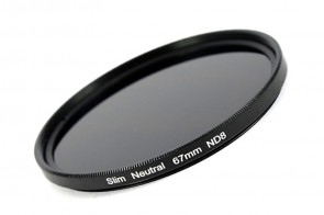 ND Filter / Graufilter ND8 SLIM 67 mm + Filterbox