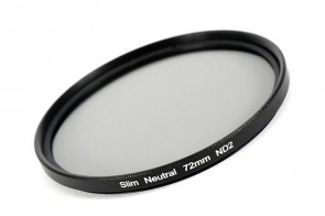 ND Filter / Graufilter ND2 SLIM 72 mm + Filterbox