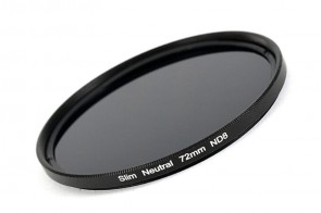 ND Filter / Graufilter ND8 SLIM 72 mm + Filterbox