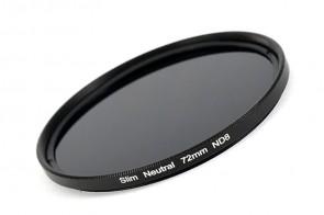 ND Filter / Graufilter ND8 SLIM 72 mm + Filterbox