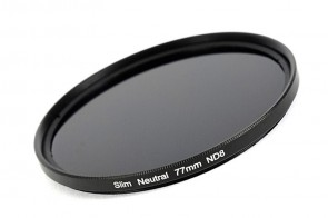 ND Filter / Graufilter ND8 SLIM 77 mm + Filterbox