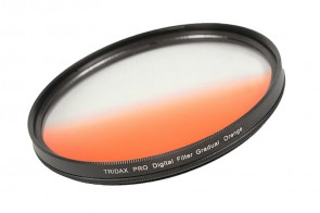 Tridax Verlaufsfilter Gradual orange 77mm