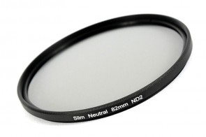 ND Filter / Graufilter ND2 SLIM 82 mm + Filterbox