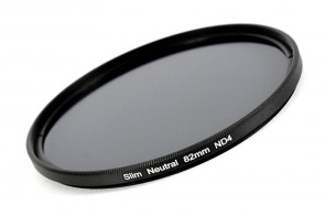 ND Filter / Graufilter ND4 SLIM 82 mm + Filterbox