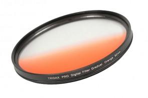 Tridax Verlaufsfilter Gradual orange 82mm
