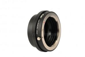 Objektivadapter (mit Blendenring) für Pentax K Objektive an Fujifilm X-Bajonett Kamera