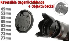 2-TEILIGES SET für Objektive mit 62mm Filtergewinde