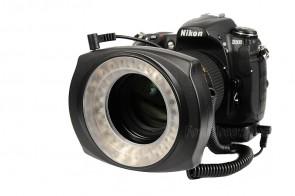 JJC Makro LED Ringleuchte LED-48IO für SLR / DSLR
