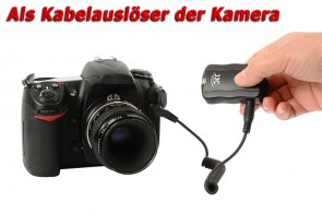 3 in 1 Funkauslöser / Wireless Flash Trigger für Kameras mit STANDARD Blitzschuh
