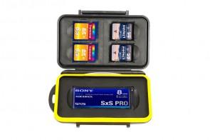 Speicherkareten Etui Box für 4x SD und 1x SXS Speicherkarten