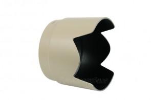 JJC Gegenlichtblende für Canon ET-74 (Tulpe, weiß)