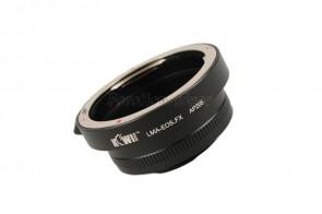 Objektivadapter für Canon EF (EOS) Objektive an Fujifilm X-Bajonett Kamera