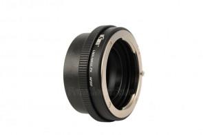 Objektivadapter für Nikon G Objektive an Fujifilm X-Bajonett Kamera
