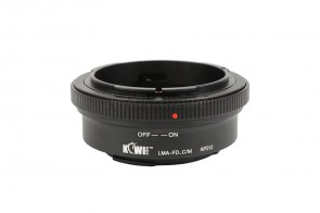 Objektivadapter für Canon FD Objektiv an Canon EOS M Kamera