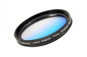 Tridax Verlaufsfilter Gradual blau 37mm