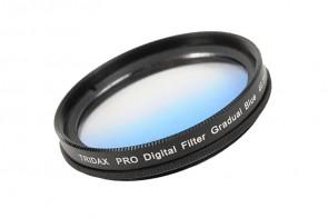 Tridax Verlaufsfilter Gradual blau 40,5 mm