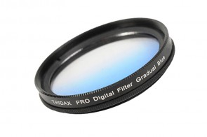 Tridax Verlaufsfilter Gradual blau 46mm