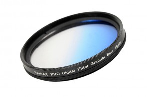 Tridax Verlaufsfilter Gradual blau 49mm