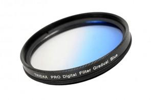 Tridax Verlaufsfilter Gradual blau 55mm