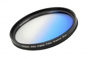 Tridax Verlaufsfilter Gradual blau 62mm