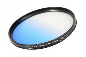 Tridax Verlaufsfilter Gradual blau 77mm