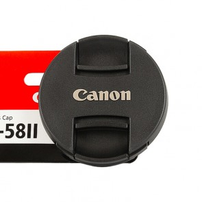 Original Canon Objektivdeckel E-58II