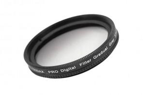 Tridax Verlaufsfilter Gradual grau / grey 37mm